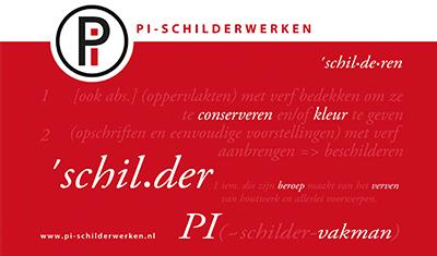 Pi schilderwerken - Schildersbedrijf Schilder Tilburg